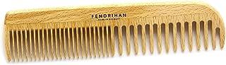 Fendrihan Beechwood 男士梳子 带圆形牙齿 17.78 厘米(德国制造)