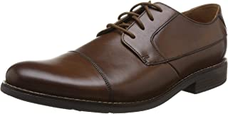 Clarks 男士Becken Cap德比鞋