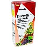 Flora-Floravital 铁&-23 盎司。