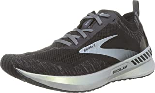 Brooks 男式 Bedlam 3 跑鞋, Black/Blackened Pearl/White, 10 UK