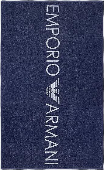 Emporio Armani 安普里奥·阿玛尼 女式毛巾沙滩装标志情侣沙滩裙