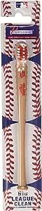 Pursonic 明尼苏达双城 MLB 棒球棒牙刷,2 盎司,一包 24 个