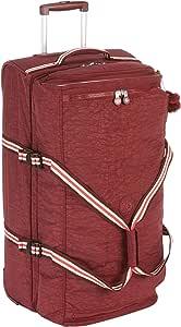Kipling Teagan L手提行李箱,77厘米,91升,棕色(鲜红色)
