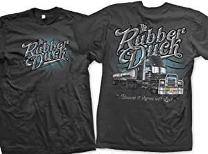 "Big Rig Tees""Rubber Duck""T 恤 XX-L 炭黑色 RD2XL"