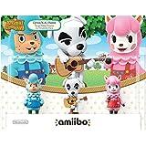 Mabel Amiibo(动物穿越系列) Animal Crossing 3-Pack USA