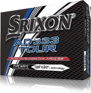 Srixon AD333 巡回高尔夫球,一十个(2018 版)