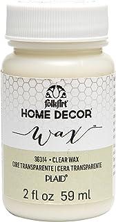 FOLKART 36314 Home Decor Chalk, Clear Wax, 2 Ounce