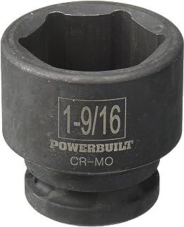 "Powerbuilt 647477 3/4"" Dr. 6 Pt. SAE Impact Socket,1-9/16"""