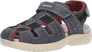 Geox 健乐士 男童 J Flexyper Boy D 包头凉鞋 Blau (Navy C4002) 32 EU