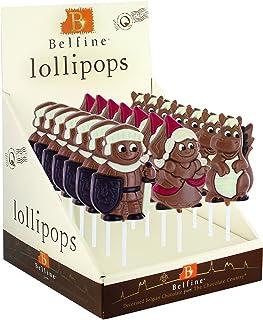 Belfine 洛萨王子/菲奥娜公主和埃利奥特龙巧克力棒棒糖 35克 (7件装)