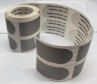 Real Bowler 胶带,卷 100,1 英寸银色/纹理