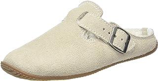 Living Kitzbühel 中性成人皮裤。 带扣和羊皮内底拖鞋