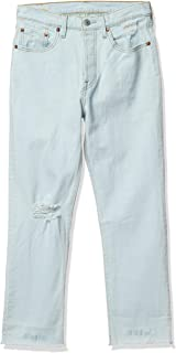 Levi's 李维斯 牛仔裤 501 CROP 七分裤 女士