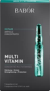 BABOR 芭宝 AMPOULE CONCENTRATES 复合维他命凝护安瓶精华,富含维生素E,A和生长素,适合干性皮肤,7 x 2毫升