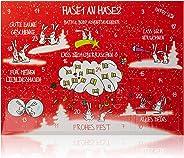 Accentra 基督降临节历 Bath & Body Hase1 an Hase2,圣诞日历带化妆品和*内容,完美的礼物送给女士和女孩的礼物