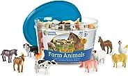 Learning Resources 农场动物计数器 早教玩具 10个 (适合3岁以上)