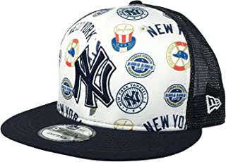 New Era 紐約洋基隊可調節 9Fifty MLB 平帽檐棒球帽 950