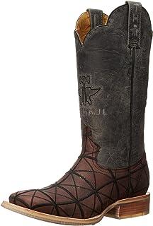 Tin Haul Mens Derrick Square Toe Boots