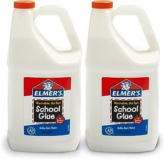 Elmer's 液體膠水 學生手工 適合做粘液、黏泥 可洗 3.78L 2桶