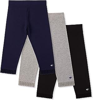Lucky & Me Jada 女童七分裤裤,无感标签,3 条装