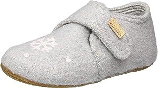 Living Kitzbühel Baby 女孩 婴儿魔术贴鞋 冬季火烈鸟家居鞋