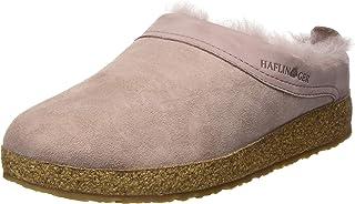 Haflinger 女士 Snowbird 羊毛皮洞鞋