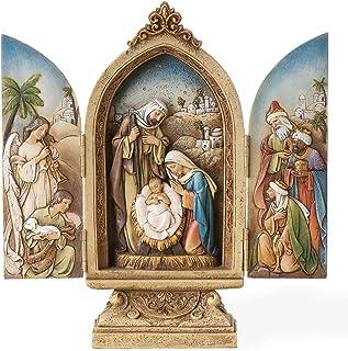 Josephs Studio Josephs Studio 9-Inch tall Holy Family Tryptych