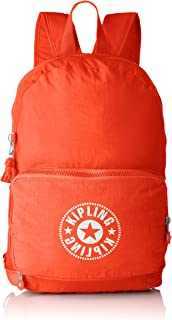 KIPLING 亚马逊官方 CLASSIC NIMAN FOLD 背包 KI2636 Funky Orange NC One Size