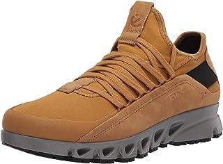 Ecco Outdoor 男式多开叉豪华 Gore-TEX DYNEEMA 运动鞋,Cayote/ayote Textile