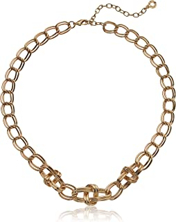 Anne Klein 安妮克莱因 女式 40.64cm 前链项链 金色