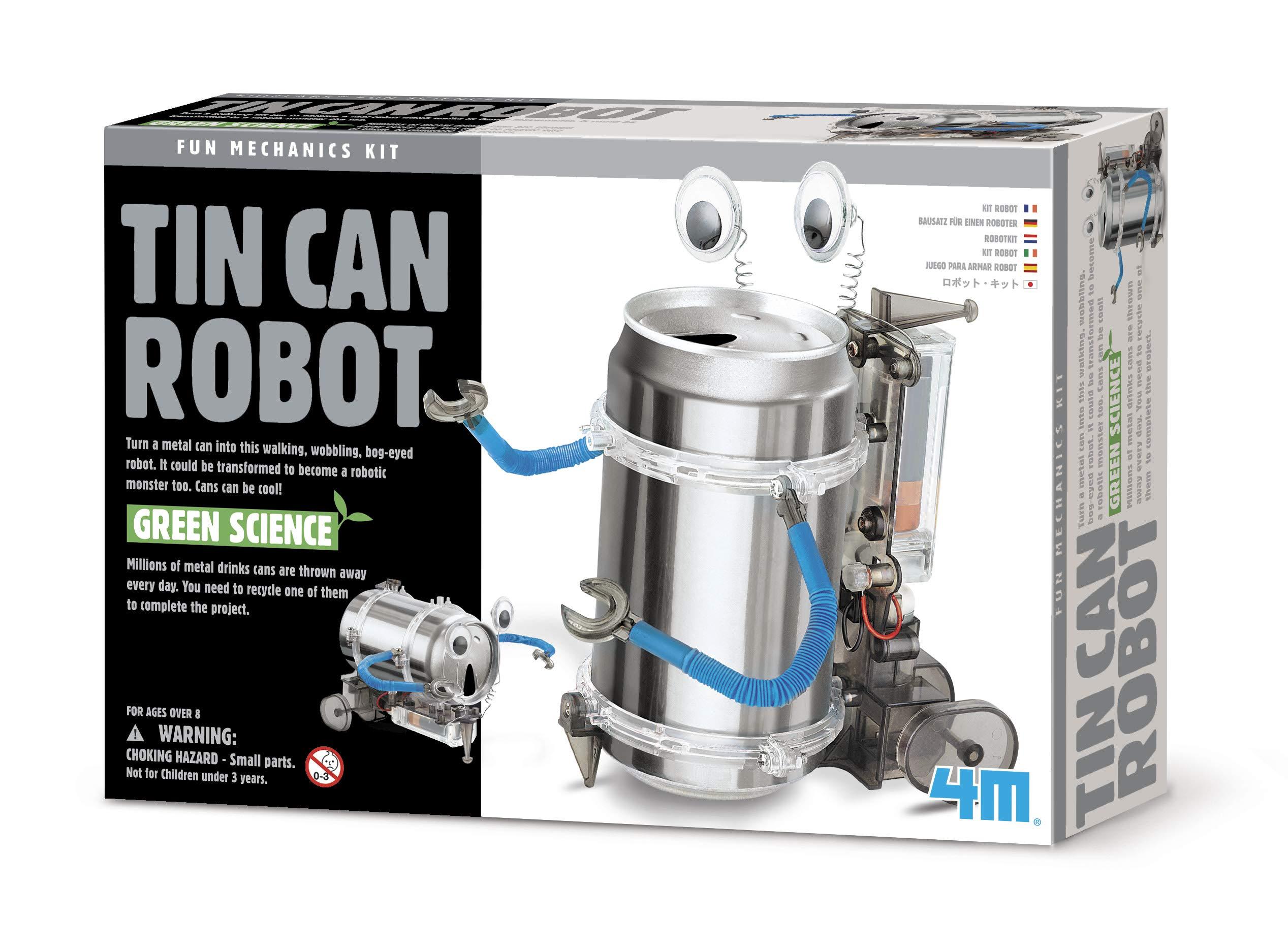 4M 4153 儿童实验室锡罐机器人