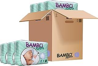 Bambo 班博 Nature 自然系列 新生儿纸尿裤 1 号 168