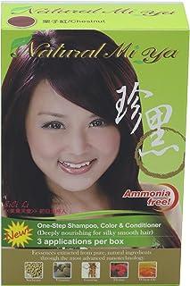 自然 MI YA 草本 colorants , henna ,人参 extracts 适用于健康染发剂 & 营养, open-up * cuticles 适用于*颜色 absorption ,简单,永久,无 ammonia