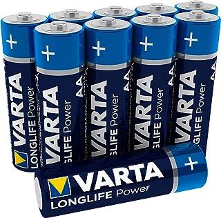 Varta 11500406 - 电池 Energy LR6 / AA Silber/Blau AA Mignon 10er Pack