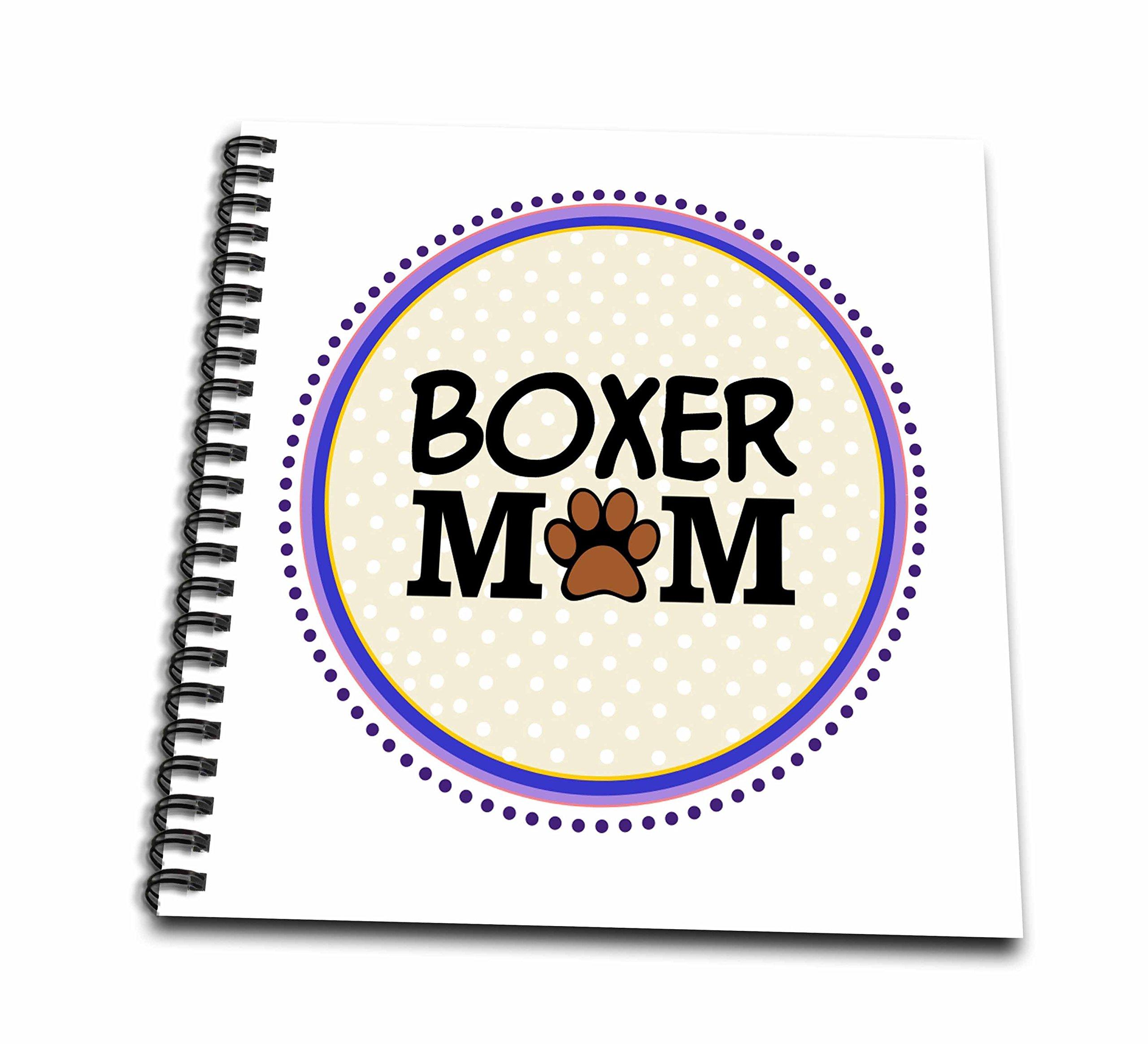 inspirationz Store PET 设计–平角 DOG Mom–doggie MAMA BY breed–爪印母婴 LOVE–Doggy LOVER–Proud 宠物主人圆圈–绘本