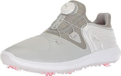 PUMA 女士 Ignite Blaze 运动飞盘高尔夫鞋 灰色紫罗兰色/白色 5.5