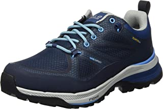 Jack Wolfskin 女式 Force Striker Texapore 低帮徒步鞋 Blue Dark Blue Light Blue 1179 5 UK