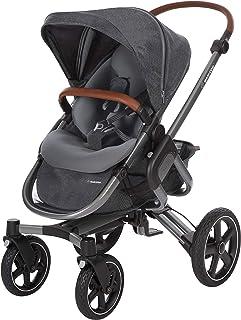 Maxi-Cosi Nova 組合嬰兒車,適合出生至 3.5 歲使用,舒適的戶外/越野嬰兒車。 淺灰色