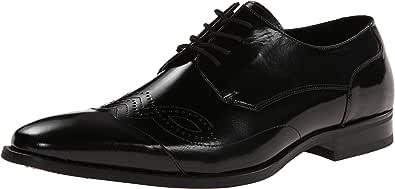 Stacy Adams 男士 Tavin 牛津鞋 黑色 8.5 M US