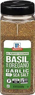 McCormick Basil and Oregano, Garlic and Sea Salt All Purpose Seasoning, 10.5 oz