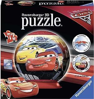 Ravensburger 11825 迪士尼皮克斯汽车总动员 3 3D 拼图 - 72 块