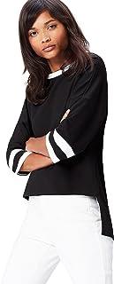 FIND Women's Stripe Sleeve Top
