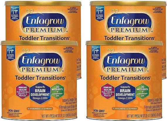 Enfagrow 美贊臣 嬰幼兒 2段 金樽奶粉 567gx4罐