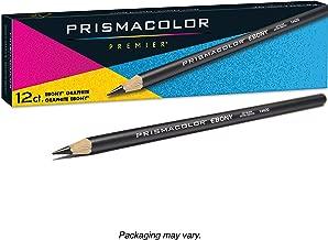 Prismacolor 烏木石墨繪圖鉛筆,黑色,12支
