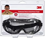 3M 91264-80025 护目镜,阻挡化学飞溅/冲击,1件装
