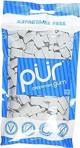 Pur 口香糖,薄荷味,2.82 盎司(12 支装)