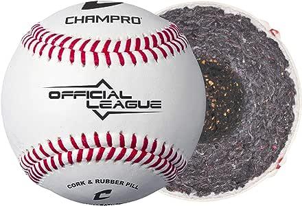 CHAMPRO Off'l League 棒球,FG Lthr