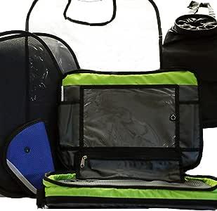 儿童汽车配件套件 后座收纳袋 旅行托盘 平板电脑 iPad 支架背 窗户 遮阳板 座椅背面 垃圾桶 踢 保护垫 适用于汽车座椅增压器 幼儿玩具遮阳 婴儿