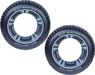 H2OGO的*佳方式! 36 英寸 Mud Master 越野轮胎充气游泳管(2 件装)