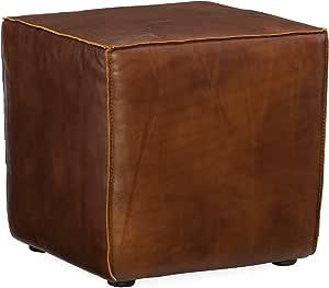 Harris & Terry AMZ5684665078 Wilbur Cube Ottoman,棕色